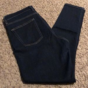 GAP 1969 high rise skinny jeans